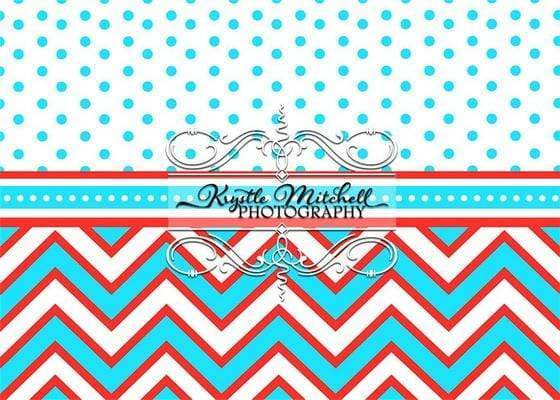 Katebackdrop¡êoKate RWB Option Stripe Backdrop Designed By Krystle Mitchell Photography