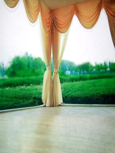 Katebackdrop£ºKate Natural Scenery Curtain With Green Trees Photography Backdrop