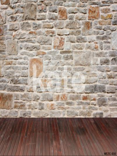Kate Brick Wall Light Brown Floor Photography Backdrops - Kate backdrops UK