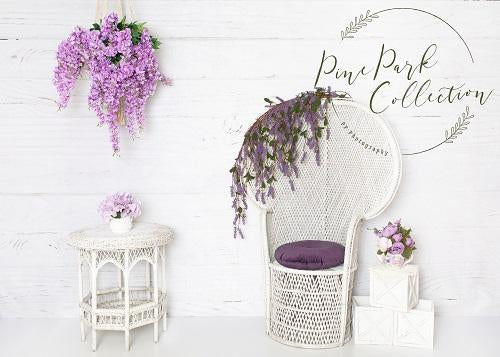 Kate Summer Backdrop Purple Boho Designed By Pine Park Collection