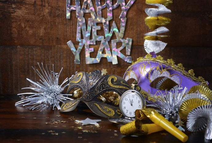 Kate Holiday Party Decoration Backdrop for New Year Eve Photography - Kate backdrops UK