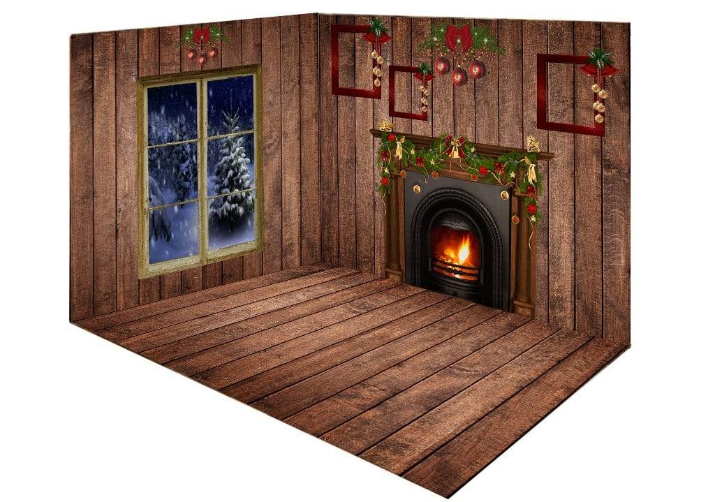 Load image into Gallery viewer, Kate Christmas Dark wood room set