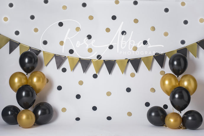 New Year Eve\Birthday Children Balloons Backdrop