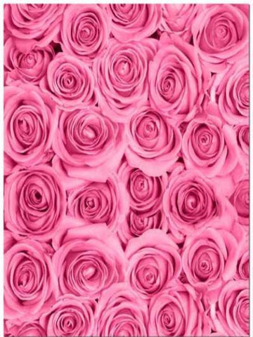 Katebackdrop:Kate Fabric Pink Rose Flower Clusters Backdrop Photography