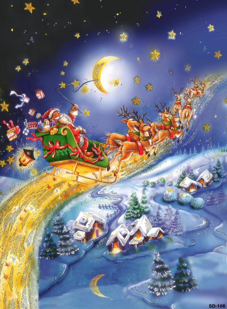 Kate Fairy Tale Night Sky Backdrop for Christmas Photography - Kate backdrops UK