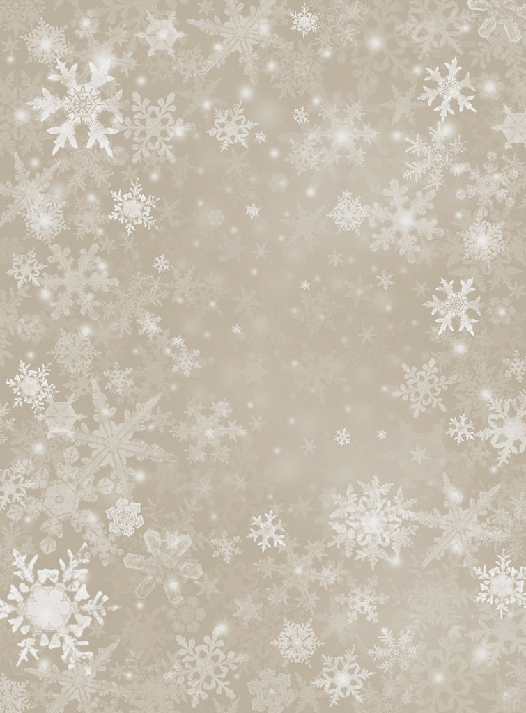 Katebackdrop£ºKate Sliver Snowflake Snow Winter Children or Christmas Backdrop for Photo studio
