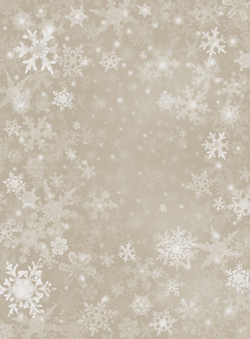 Katebackdrop:Kate Sliver Snowflake Snow Winter Children or Christmas Backdrop for Photo studio