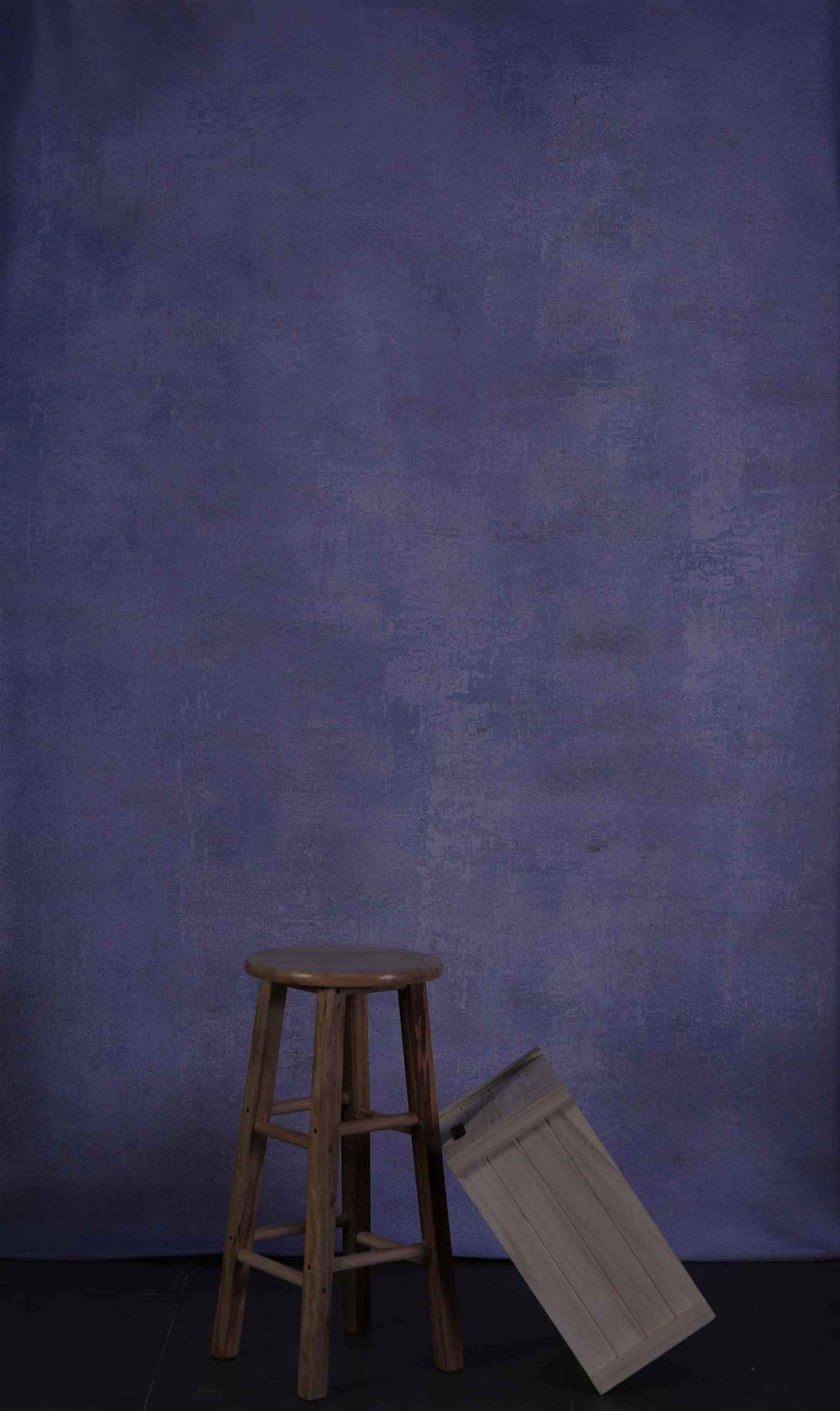 Kate Purple Texture Hand Painted Canvas Backdrop