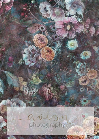 Kate Vintage Rose Backdrop