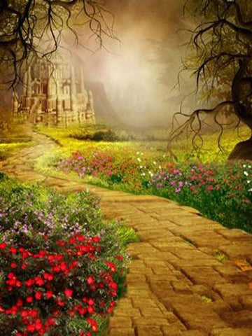 Kate Autumn Backdrop Fantasy Fariy Tale  Background - Kate backdrops UK