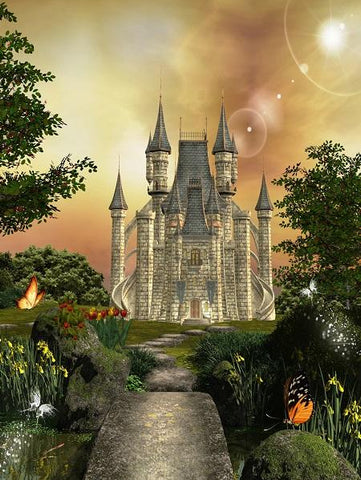 Katebackdrop:Kate Disney fairy tale Backdrop photography
