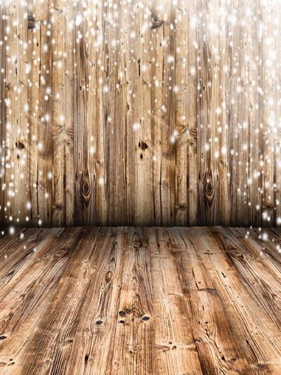 Katebackdrop£ºKate Light Brown Wood Children Christmas Photography Backdrop
