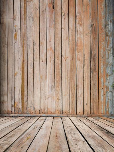 Katebackdrop:Kate Retro Brown Wood Backdrop Washable For Photography Studio Photo