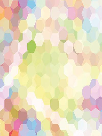 Kate Children Colorful Hexagons Bokeh Halos Photography Backdrops - Kate backdrops UK