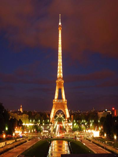 Katebackdrop£ºKate Eiffel Tower Night Scenery Photography Backdrops