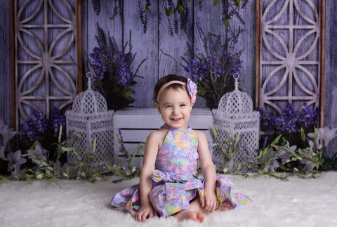 Kate Summer Peaceful Lavender Backdrop for Easter/Spring Design by Shutter Swan Studios