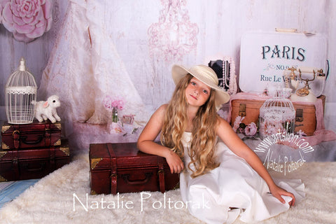 Kate Vintage Vibes Backdrop for Photography Designed by Erin Larkins