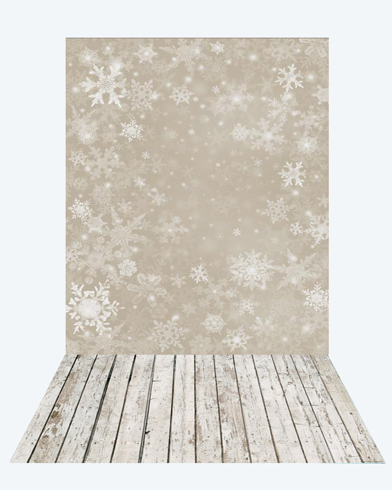 Kate Snow Backdrop for Photography +White wood floor mat