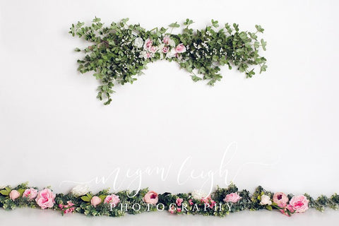 Kate Spring Flowers Backdrop for Photography Designed by Megan Leigh Photography