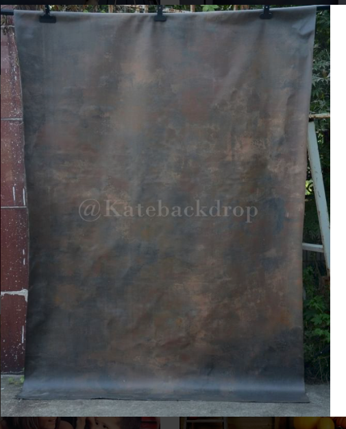 Kate Brown Black Color Spray Painted Abstract Texture Backdrop - Kate backdrops UK