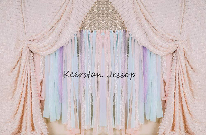 Kate Cake Smash Magical Fairytale Backdrop for Photography Designed By Keerstan Jessop