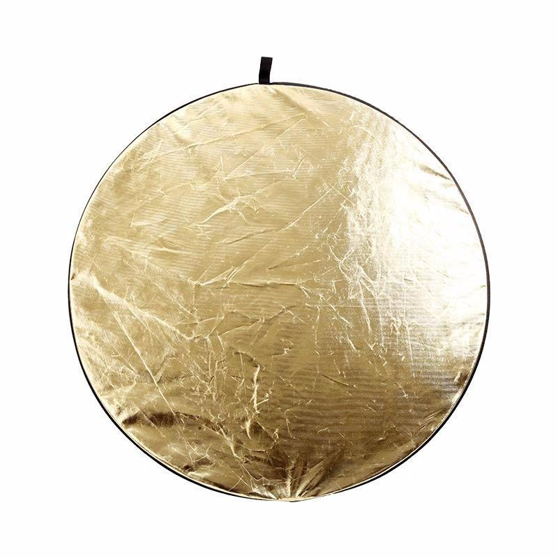 "2-In-1 Light Round Photography Reflector Studio Photo Disc 24"" 60Cm - Kate backdrops UK"