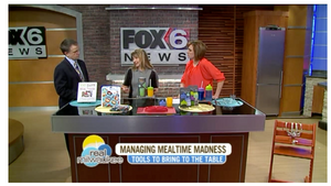 Jessica Lahner shared a few tips on how to manage mealtime madness