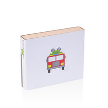 Load image into Gallery viewer, fire truck baby gift box