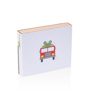 fire truck baby gift box