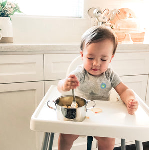 baby led weaning feeding bowl