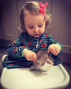 baby stainless steel feeding bowl