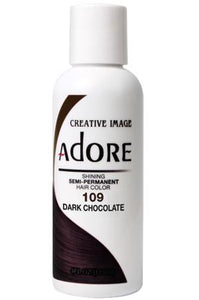 Adore Semi Permanent Hair Color (4 oz)- #109 Dark Chocolate - KYROCHE BEAUTY SUPPLIES