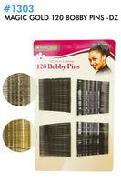 120 BOBBY PINS - KYROCHE BEAUTY SUPPLIES
