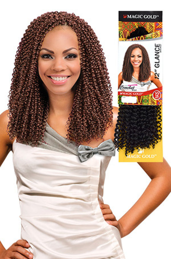 MAGIC GOLD GLANCE BRAIDS 12