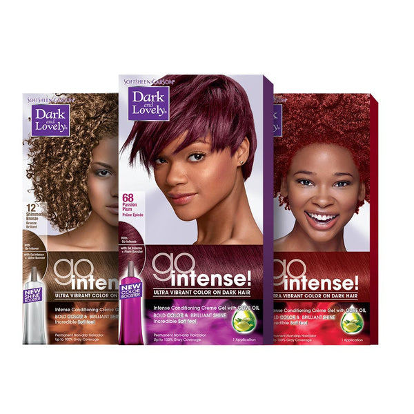 Dark and Lovely Go Intense Hair color