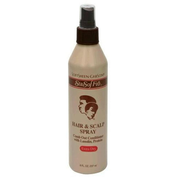 SOFTSHEEN CARSON STA SO FRO HAIR AND SCALP SPRAY