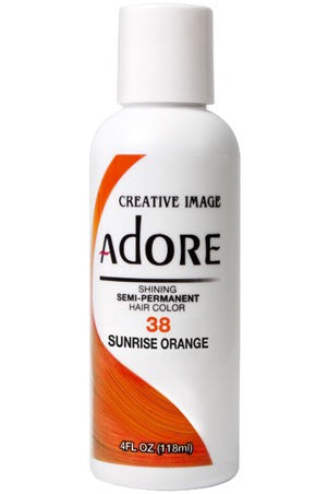 Adore Semi Permanent Hair Color (4 oz)- #38 Sunrise Orange