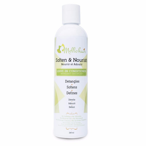 MELLO HAIR SOFTEN AND NOURISH LEAVE IN CONDITIONER