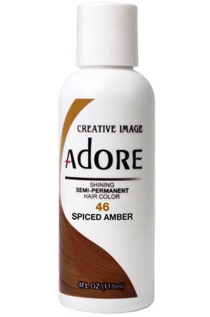 Adore Semi Permanent Hair Color (4 oz)- #46 Spiced Amber