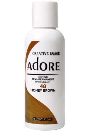 Adore Semi Permanent Hair Color (4 oz)- #48 Honey Brown