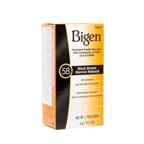 BIGEN PERMANENT HAIR COLOUR