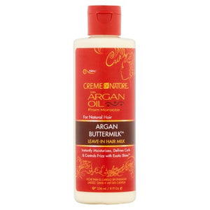 CREME OF NATURE ARGAN OIL ARGAN BUTTER MILK