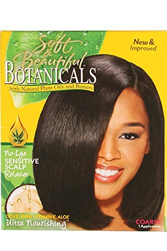 SOFT AND BEAUTIFUL BOTANICALS SENSATIVE SCALP COARSE RELAXER