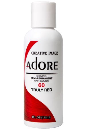 Adore Semi Permanent Hair Color (4 oz)- #60 Truly Red