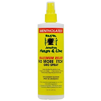 Mango & Lime Medicated No More Itch Gro Spray
