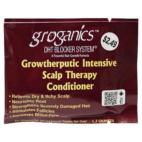 Groganic's Growtherputic Intensive Scalp Therapy Conditioner (Box)