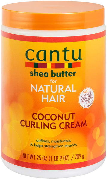 CANTU Salon Size Coconut Curling Cream