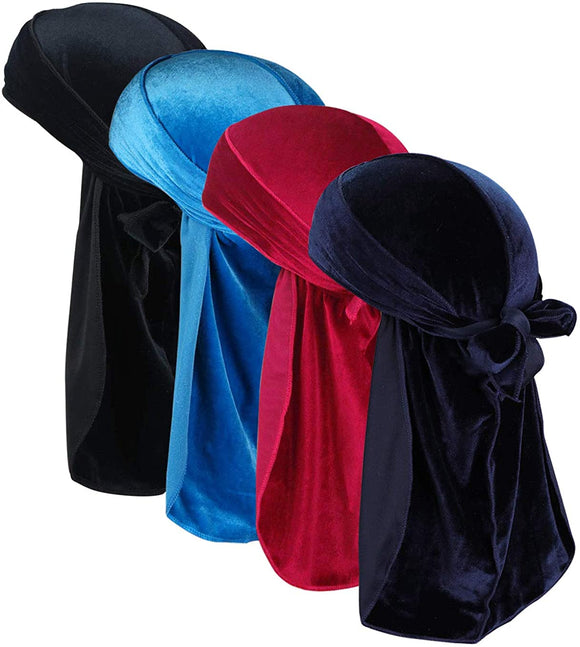 Velvet Durag (Assorted colors )