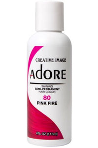 Adore Semi Permanent Hair Color (4 oz)- #80 Pink Fire