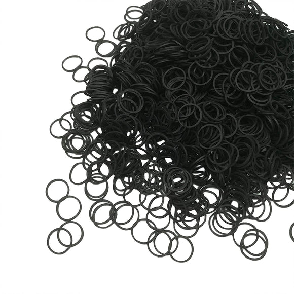 ELASTIC RUBBER BANDS (200 PCS) NON EASY SNAP